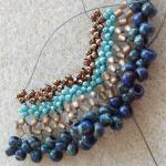 Supplies needed for the Hubble necklace are 15/0-15/0-11/0-8/0 Seedbeads